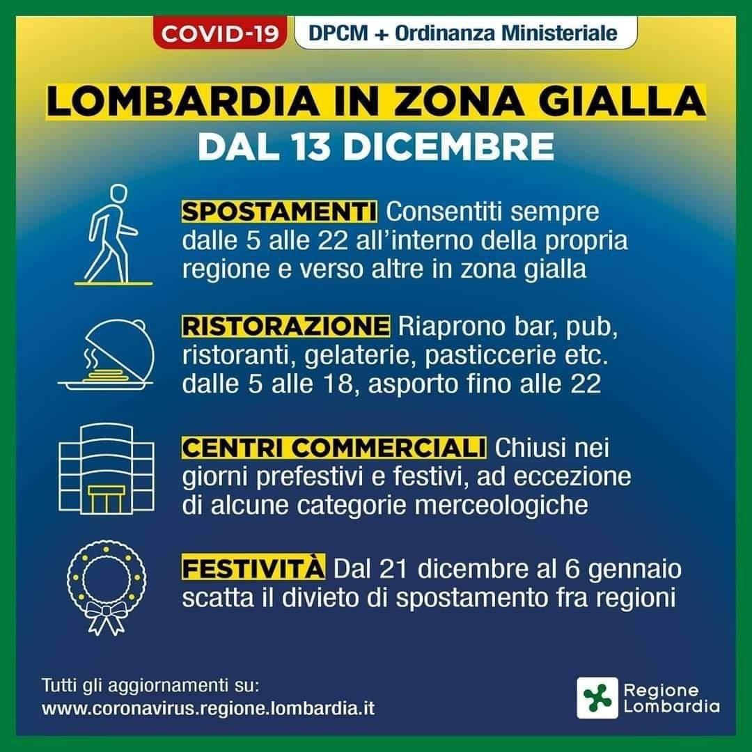 Lombardia zona gialla - Comune di Marudo